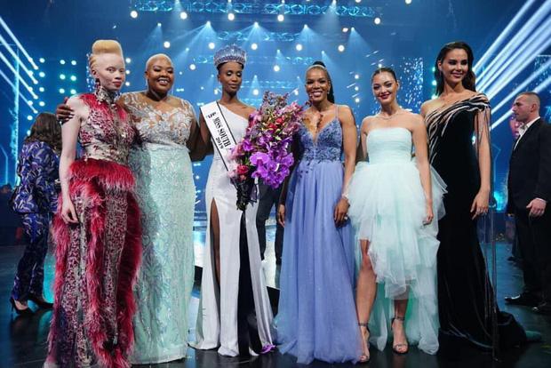 Nhan sắc lạ và đầy ấn tượng của mỹ nhân Nam Phi vừa đăng quang Miss Universe 2019-1
