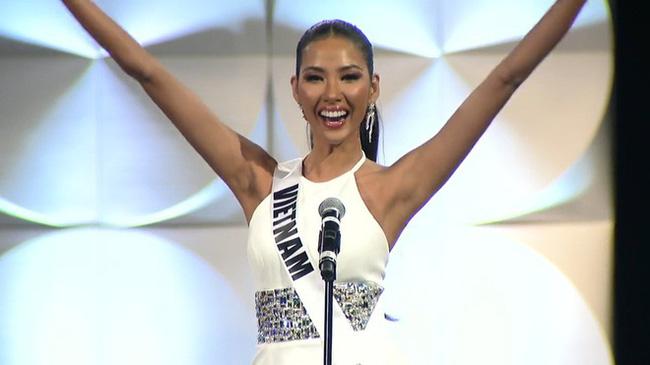 Hoàng Thùy mài sắt nên kim: Cô nàng gầy đét, nhan sắc là con số 0 tròn trĩnh vươn mình đến Top 20 Miss Universe 2019-11