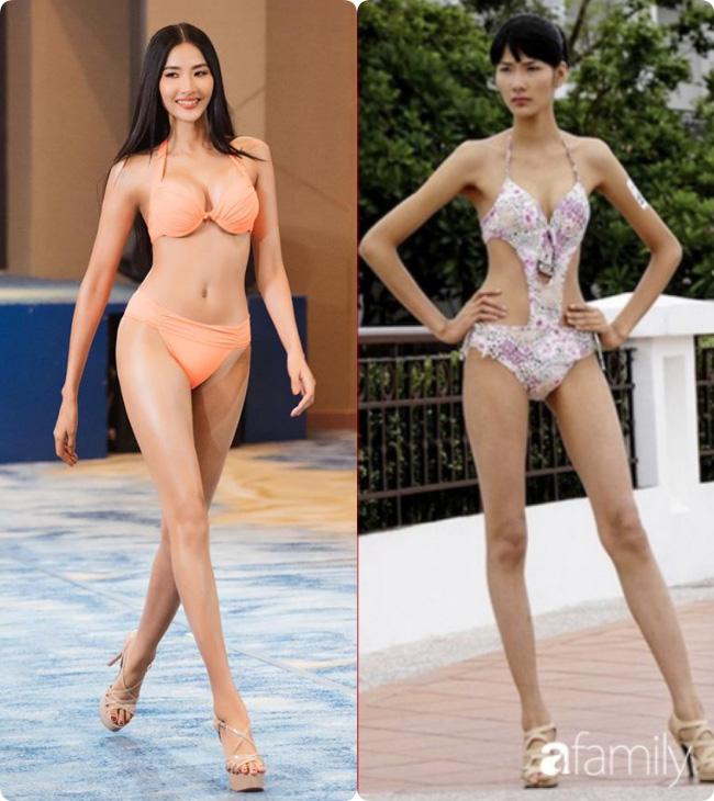 Hoàng Thùy mài sắt nên kim: Cô nàng gầy đét, nhan sắc là con số 0 tròn trĩnh vươn mình đến Top 20 Miss Universe 2019-4