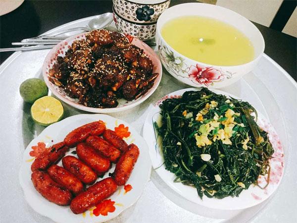 Chỉ 100k, 9X Nam Định gợi ý mâm cơmđuề huề, chồng phải bảo vợ nấu ít thôi-7