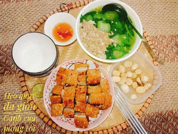Chỉ 100k, 9X Nam Định gợi ý mâm cơmđuề huề, chồng phải bảo vợ nấu ít thôi-12
