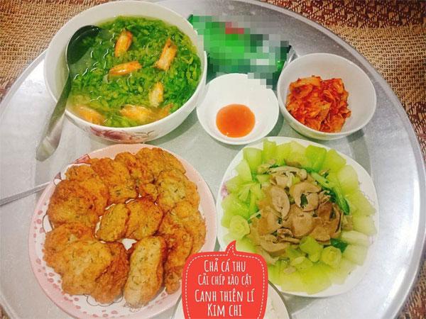 Chỉ 100k, 9X Nam Định gợi ý mâm cơmđuề huề, chồng phải bảo vợ nấu ít thôi-16