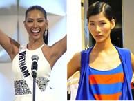 Hoàng Thùy 'mài sắt nên kim': Cô nàng gầy đét, nhan sắc là con số 0 tròn trĩnh vươn mình đến Top 20 Miss Universe 2019