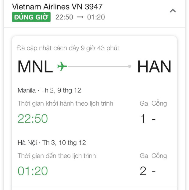 Tuyển nữ Việt Nam huỷ lịch bay, ở lại cổ vũ trận chung kết bóng đá nam SEA Games 30-2