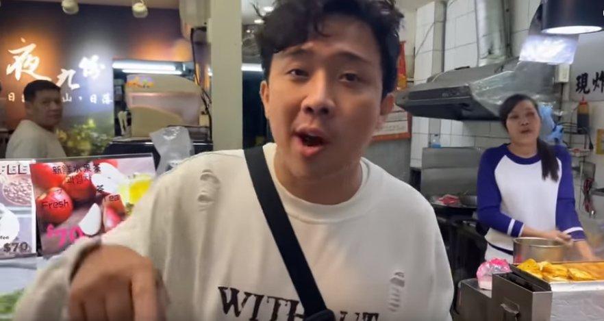 Phản ứng của Trấn Thành khi ăn đậu phụ thối, fan đếm không biết bao nhiêu từ Thúi quá-1