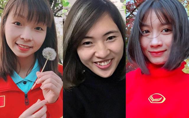 Quyết liệt trên sân cỏ, ai ngờ 3 gương mặt khả ái của đội tuyển bóng đá nữ Việt Nam lại có những hình ảnh ngoài đời mềm mại như thế này-1
