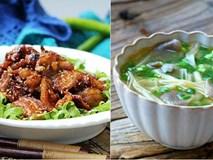 30 phút nấu thực đơn cơm tối 2 món siêu ngon cho ngày đầu tuần bận rộn