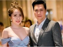Quỳnh Nga diện đầm gợi cảm, tình tứ sánh bước bên Việt Anh