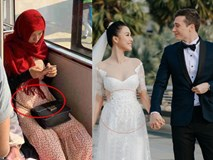 Sau tin đồn mang thai, MC Hoàng Oanh đã lộ vòng 2 lớn rõ lắm rồi trong hình ảnh đời thường