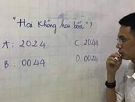'Hai không hai bốn viết thế nào?' - câu đố đơn giản tưởng học sinh lớp 1 cũng làm được lại gây tranh cãi không ngừng
