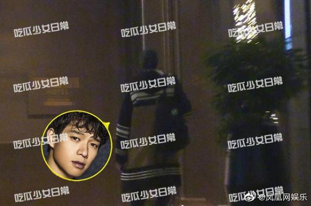 Paparazzi tóm sống Dương Mịch và tình trẻ vào khách sạn, 6 giờ sáng hôm sau mới lén lút đi ra-1