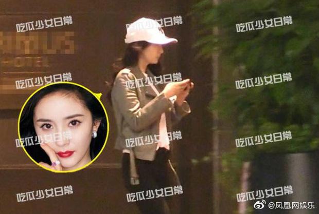 Paparazzi tóm sống Dương Mịch và tình trẻ vào khách sạn, 6 giờ sáng hôm sau mới lén lút đi ra-4