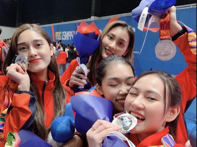 Quá xinh đẹp, hot girl môn kiếm chém đoạt HCB Sea Games lấn sân sang làm người mẫu khiến cộng đồng mạng bất ngờ-2