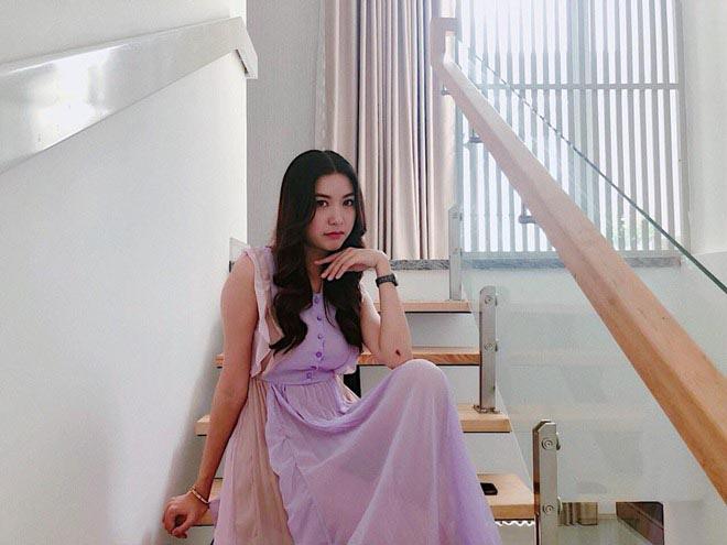 Cuộc sống độc thân trong căn nhà 400m2, đi xe 8 tỷ của á hậu Thúy Vân-3
