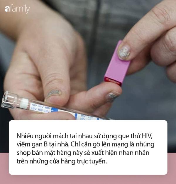 Sau vụ hàng nghìn que thử HIV, viêm gan B bị cắt đôi, nhiều người chọn mua que test tại nhà: Liệu có đảm bảo an toàn và cho kết quả chính xác?-1