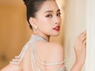 Trần Tiểu Vy mặc hở lưng trần nuột nà, Quỳnh Nga diện váy trễ vai hút ánh nhìn