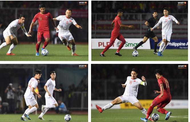 Cầu thủ U22 Indonesia troll cực mạnh: Phát bóng bắt đầu trận đấu trong khi đồng đội vẫn đang quỳ gối cầu nguyện giữa sân-1