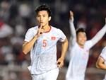 HLV Park Hang-seo cực thần thái khi Văn Hậu ghi bàn mở tỷ số ở trận chung kết SEA Games 30-9