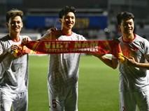 Video: Văn Hậu nâng tỷ số lên 3-0 cho U22 Việt Nam