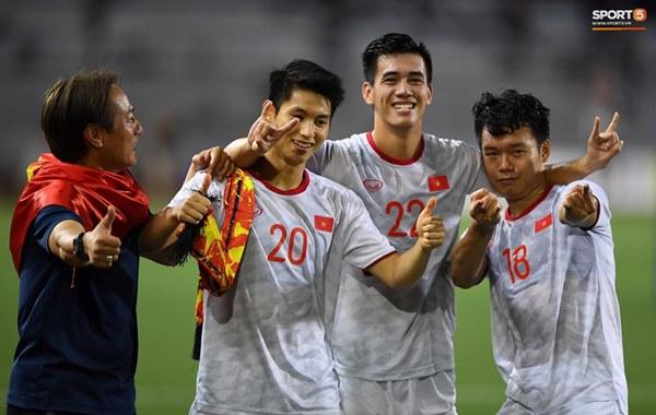 U22 Việt Nam ăn mừng cực cảm xúc khi vô địch SEA Games 30-6