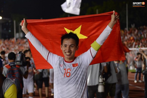 U22 Việt Nam ăn mừng cực cảm xúc khi vô địch SEA Games 30-11