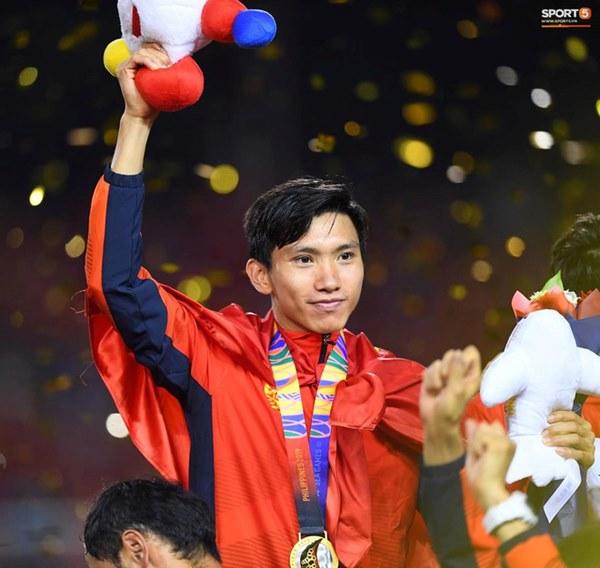 U22 Việt Nam ăn mừng cực cảm xúc khi vô địch SEA Games 30-13