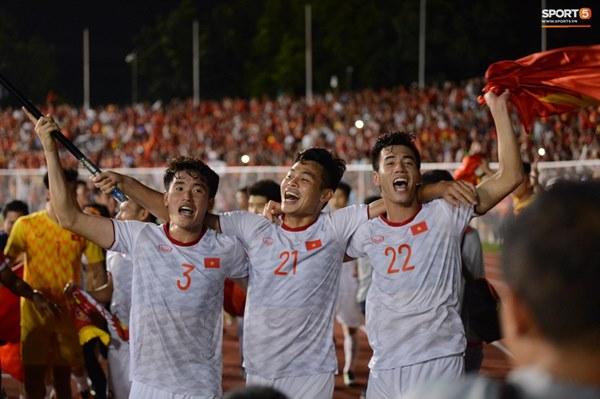 U22 Việt Nam ăn mừng cực cảm xúc khi vô địch SEA Games 30-17
