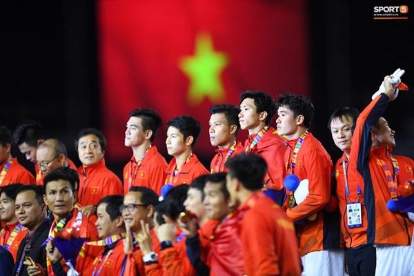 U22 Việt Nam ăn mừng cực cảm xúc khi vô địch SEA Games 30-19