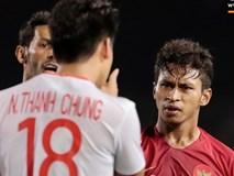 Cãi cùn với trọng tài, trai hư của Indonesia bị Thành Chung cho
