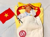 Những em bé chào đời trong giây phút U22 Việt Nam giành HCV SEA Games 30