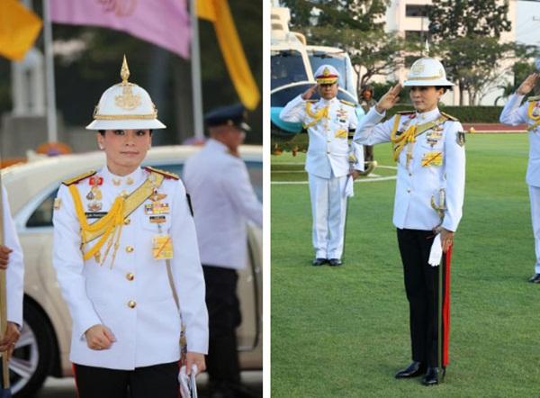 Hoàng hậu Thái Lan biến hóa liên tục sau khi Hoàng quý phi bị phế truất, khoe vẻ đẹp cá tính trong sự kiện mới nhất-1