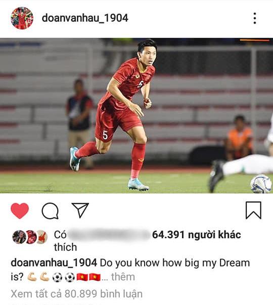 Đăng ảnh ăn mừng chiến thắng trên Instagram, Đoàn Văn Hậu bị cổ động viên Indonesia tràn vào bình luận miệt thị, xúc phạm nặng nề-5