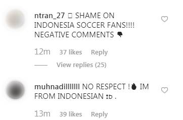 Đăng ảnh ăn mừng chiến thắng trên Instagram, Đoàn Văn Hậu bị cổ động viên Indonesia tràn vào bình luận miệt thị, xúc phạm nặng nề-8