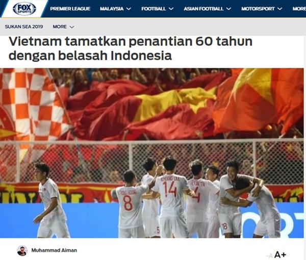 Một loạt trang tin nước ngoài ca ngợi chiến thắng của U22 Việt Nam, gọi Đoàn Văn Hậu là cơn ác mộng của Indonesia-5