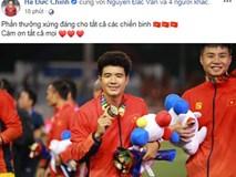 Việt Nam vô địch Sea Games 30, dàn cầu thủ viết nên lịch sử bóng đá nước nhà đã kịp chia sẻ lời cảm ơn đầu tiên sau trận chung kết