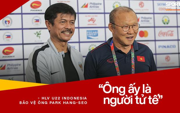 HLV U22 Indonesia bảo vệ ông Park Hang-seo sau tấm thẻ đỏ: Ông ấy là người tử tế-2