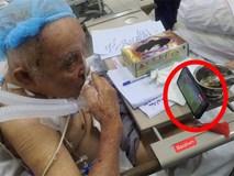 Cụ ông phẫu thuật não, thở máy vẫn cố xem trận U22 Việt Nam - U22 Indonesia và những hình ảnh xúc động trong viện
