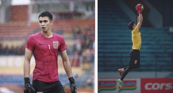Chàng thủ môn 9X của U22 Indonesia phải vào lưới nhặt bóng 3 lần: Hot boy điển trai, nam tính nhưng ngoài đời lại có phong cách khác hẳn-3