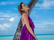 Ảnh hậu TVB chụp ảnh bán nude ở Maldives