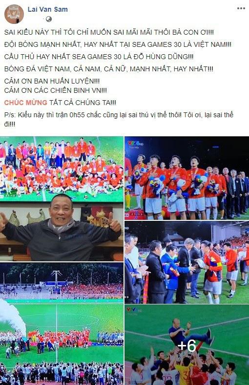 Sau tuyên bố sốc, MC Lại Văn Sâm gọi tên cầu thủ đá hay nhất SEA Games 30-1