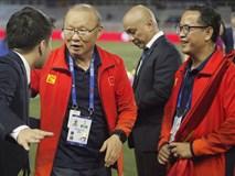 Đại diện BTC xin lỗi thầy Park sau vụ việc ồn ào vì tấm thẻ đỏ ở trận chung kết SEA Games