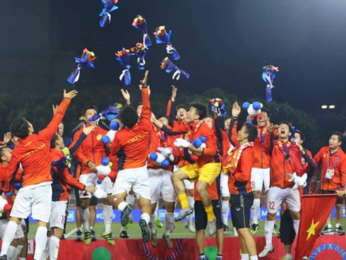 Vô địch SEA Games, đừng quên dưới tay thầy Park là một dòng máu kiêu hãnh cuộn chảy