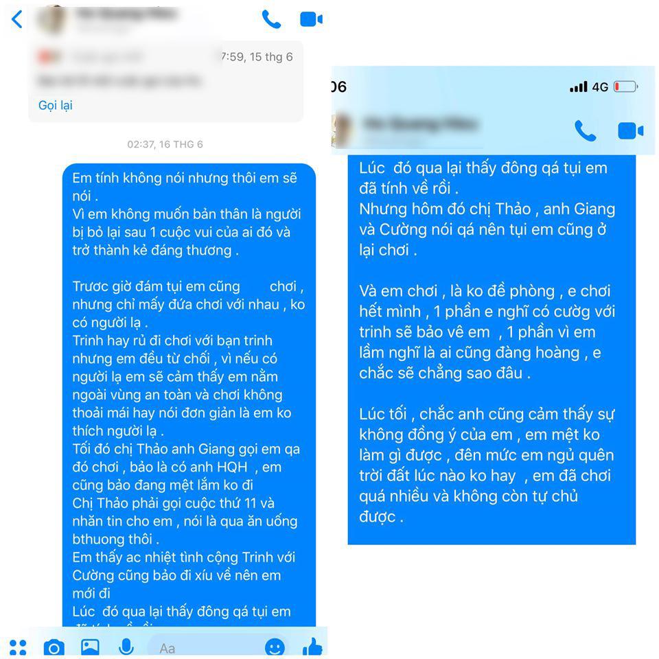 Biến lớn showbiz: Nam ca sĩ nổi tiếng của Vbiz bị một cô gái trẻ tung bằng chứng tố hiếp dâm, rủ đi bay lắc rồi cướp đời con gái?-10