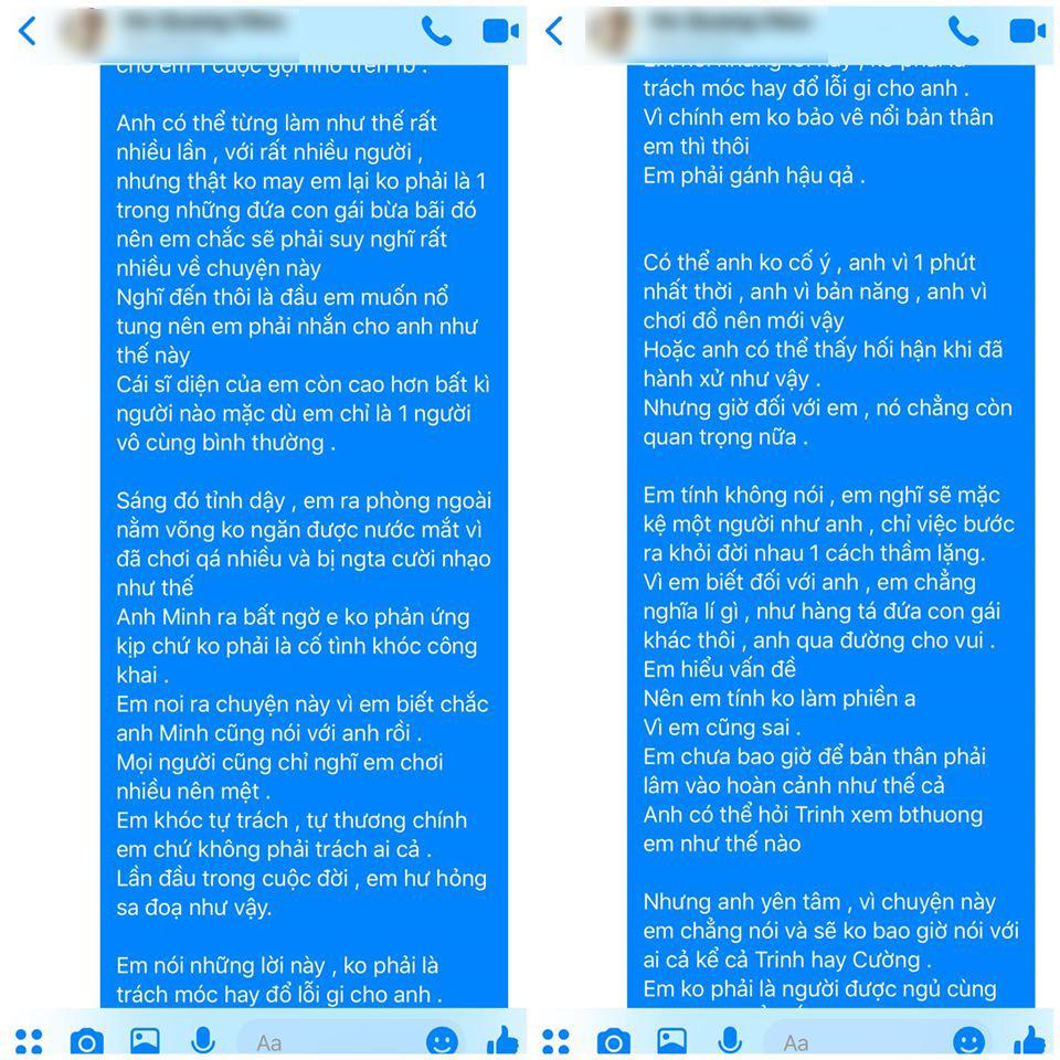 Biến lớn showbiz: Nam ca sĩ nổi tiếng của Vbiz bị một cô gái trẻ tung bằng chứng tố hiếp dâm, rủ đi bay lắc rồi cướp đời con gái?-12