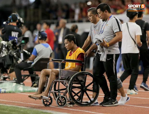 Đã có kết luận về chấn thương của sao Indonesia phải ngồi xe lăn: Nhẹ đến bất ngờ, ai còn nói Văn Hậu hủy hoại sự nghiệp đối phương nữa?-2