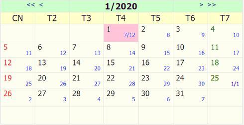 Tết Dương lịch 2020 được nghỉ mấy ngày?-1