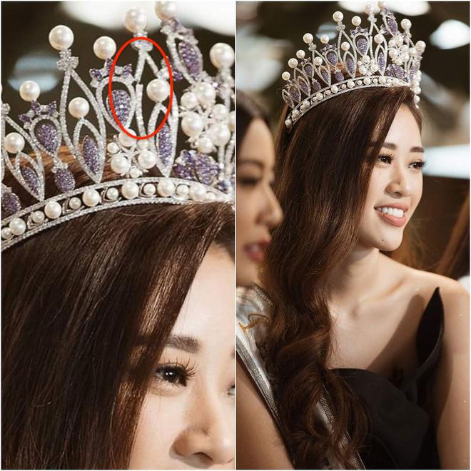 Vương miện hơn 2000 nghìn viên đá quý bị gãy sau 4 ngày Hoa hậu Hoàn vũ Việt Nam đăng quang?-2