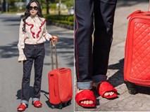 Đi dép lê giá 30 triệu đồng, Phượng Chanel gợi nhớ trend giày đỏ 'dân chơi'