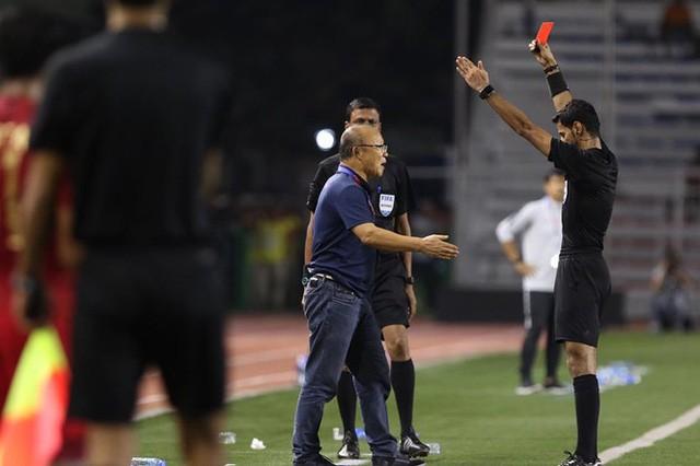 Phải nhận thẻ đỏ ở SEA Games, HLV Park sẽ không còn quyền chỉ đạo ở trận kế tiếp?-1