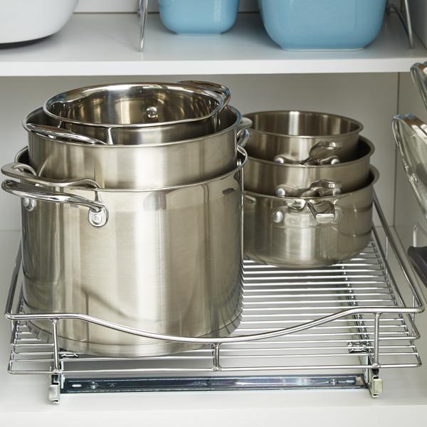5 bước để lưu trữ các loại nồi nấu bếp siêu khoa học, cực gọn gàng ai nhìn cũng thích-7